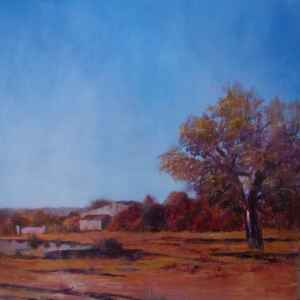 Portuguese Ruin Autumn